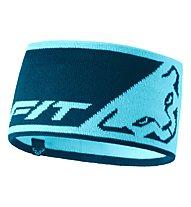 Dynafit Leopard Logo - Stirnband, Light Blue/Blue