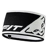 Dynafit Leopard Logo - fascia paraorecchie, White/Black