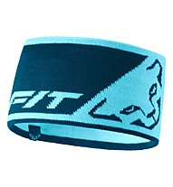 Dynafit Leopard Logo - fascia paraorecchie, Light Blue/Blue