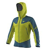 Dynafit M Radical Gore-Tex® - giacca scialpinismo - uomo, Green/Dark Blue