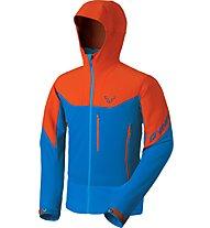 Dynafit Mercury 2 - Softshelljacke mit Kapuze Bergsport - Herren, Blue/Orange