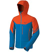 Dynafit Mercury 2 - Softshelljacke mit Kapuze Bergsport - Herren, Orange/Light Blue