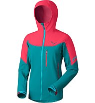 Dynafit Mercury 2 - Softsheljacke Skitouring - Damen, Blue/Pink