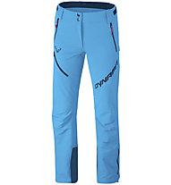 Dynafit Mercury 2 Dynastretch - pantaloni softshell - donna, Light Blue/Blue