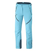 Dynafit Mercury 2 Dynastretch - pantaloni softshell - donna, Blue/Light Blue
