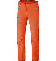 Dynafit Mercury 2 Dynastretch - pantaloni softshell - donna, Orange/Light Blue