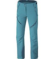 Dynafit Mercury 2 Dynastretch - pantaloni softshell - donna, Light Blue/Dark Blue