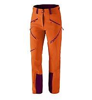 Dynafit Mercury Pro 2 - pantaloni sci alpinismo - donna, Orange/Purple