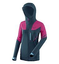 Dynafit Mercury Pro - giacca sci alpinismo - donna, Light Blue/Pink
