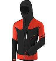 Dynafit Mercury Pro - giacca sci alpinismo - uomo, Black/Red