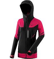 Dynafit Mercury Pro - giacca sci alpinismo - donna, Black/Pink