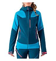 Dynafit Mercury Pro - giacca sci alpinismo - donna, Blue/Light Blue