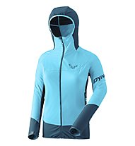 Dynafit Mezzalama 2 Polartec® Alpha - giacca ibrida - donna, Light Blue/Dark Blue