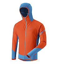 Dynafit Mezzalama 2 Ptc Alpha - giacca con cappuccio sci alpinismo - uomo, Orange/Light Blue