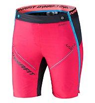 Dynafit Mezzalama 2 PTC - pantaloni corti sci alpinismo - donna, Pink/Black