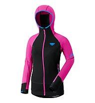 Dynafit Mezzalama Race - giacca in pile sci alpinismo - donna, Fluo Pink/Black