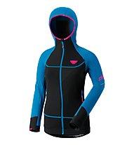 Dynafit Mezzalama Race - giacca in pile sci alpinismo - donna, Blue/Black