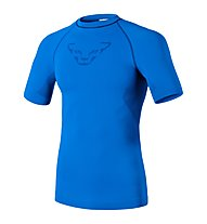 Dynafit Performance Dryarm M S/s tee T-Shirt funzionale Scialpinismo, Blue
