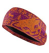 Dynafit Performance Warm - Stirnband Skitouren, Purple/Orange