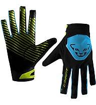 Dynafit Radical 2 Softshell - guanti softshell - uomo, Black/Light Blue/Yellow