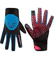 Dynafit Radical 2 Softshell - guanti softshell - uomo, Black/Light Blue/Pink