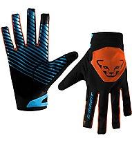 Dynafit Radical 2 Softshell - guanti softshell - uomo, Black/Orange/Light Blue