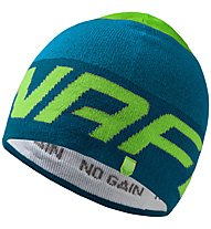 Dynafit Radical - Wollmütze Skitouren, Dark Blue/Blue/Green