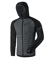 Dynafit Radical Dwn - giacca in piuma - uomo, Black/Grey