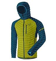 Dynafit Radical Dwn - giacca in piuma - uomo, Green/Navy
