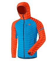 Dynafit Radical Dwn - giacca in piuma - uomo, Orange/Light Blue