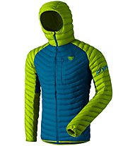 Dynafit Radical Dwn - giacca in piuma - uomo, Blue/Light Green
