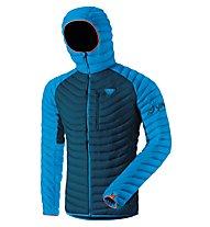 Dynafit Radical Dwn - giacca in piuma - uomo, Blue/Light Blue/Orange