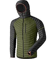 Dynafit Radical Dwn - giacca in piuma - uomo, Dark Green/Black