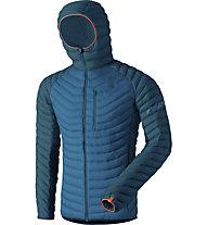 Dynafit Radical Dwn - giacca in piuma - uomo, Blue/Navy/Orange