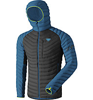 Dynafit Radical Dwn - giacca in piuma - uomo, Blue/Black/Yellow