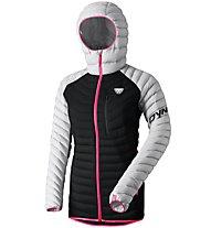Dynafit Radical - Daunenjacke mit Kapuze Skitouring - Damen, Black/Light Grey/Pink