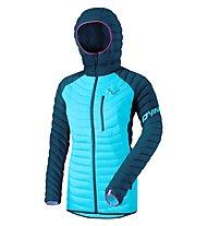 Dynafit Radical Down RDS - Daunenjacke mit Kapuze Skitouring - Damen, Navy/Light Blue/Pink