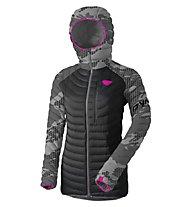 Dynafit Radical Down RDS - Daunenjacke mit Kapuze Skitouring - Damen, Camo/Dark Grey/Pink