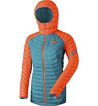 Dynafit Radical Down RDS - Daunenjacke mit Kapuze Skitouring - Damen, Orange/Light Blue