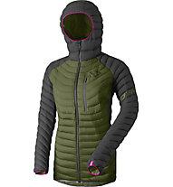Dynafit Radical Down RDS - Daunenjacke mit Kapuze Skitouring - Damen, Green/Pink/Black