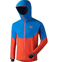 Dynafit Radical GORE-TEX - Skitourenjacke mit Kapuze - Herren, Blue/Orange