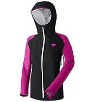 Dynafit Radical GTX - giacca in GORE-TEX® sci alpinismo - donna, Black/Pink