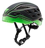 Dynafit Radical Helmet - casco scialpinismo, Black/Green