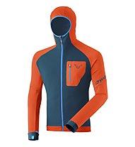 Dynafit Radical Polartec® - felpa in pile con cappuccio - uomo, Orange/Blue/Light Blue