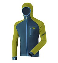 Dynafit Radical Polartec® - felpa in pile con cappuccio - uomo, Green/Blue/Light Blue