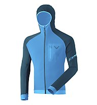 Dynafit Radical Polartec® - felpa in pile con cappuccio - uomo, Light Blue/Navy