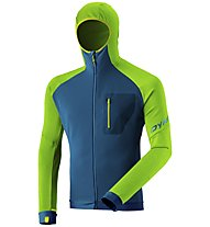 Dynafit Radical PTC - giacca in pile - uomo, Green/Blue