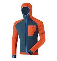 Dynafit Radical PTC - giacca in pile - uomo, Orange/Blue/Light Blue