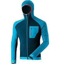 Dynafit Radical PTC - giacca in pile - uomo, Light Blue/Blue