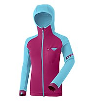 Dynafit Radical Polartec - Fleecejacke mit Kapuze - Damen, Light Blue/Purple